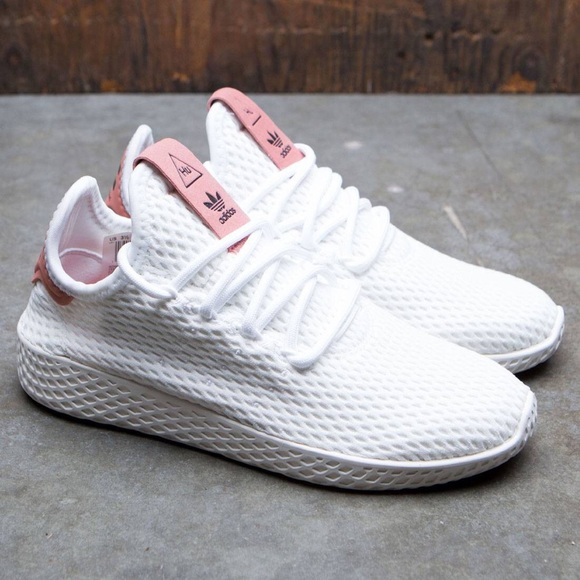 sports shoes fb28f e7b62 adidas Shoes | X Pharrell X Tennis Hu J Raw Pink | Poshmark